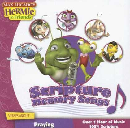 Books About Friendship - Scripture Memory Songs: Verses About Praying (Max Lucado's Hermie & Friends)