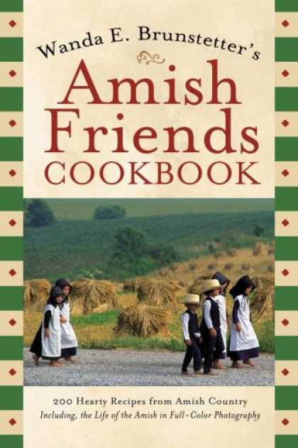 Books About Friendship - Amish Friends Cookbook