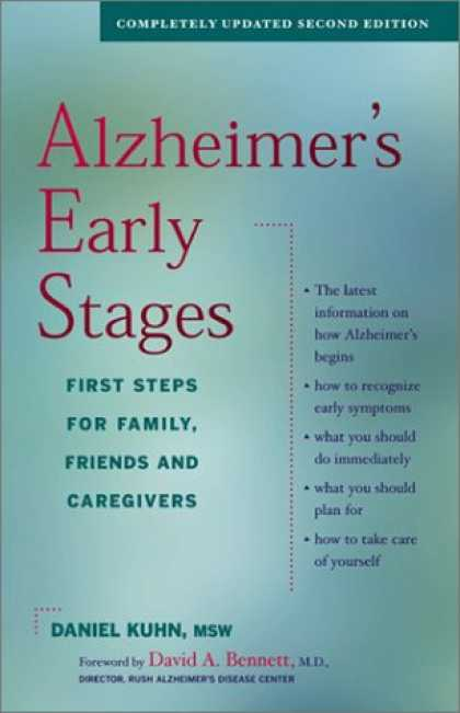 Books About Friendship - Alzheimer's Early Stages: First Steps for Family, Friends and Caregivers