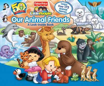 Books About Friendship - Fisher-Price Our Animal Friends (Fisher Price Little People)