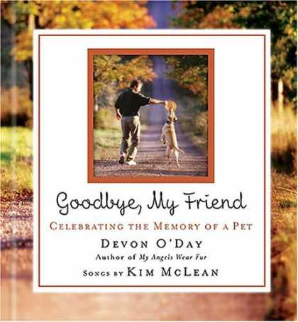 Books About Friendship - Goodbye, My Friend