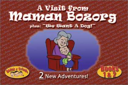 Books About Friendship - Babak and Friends - A Visit from Maman Bozorg