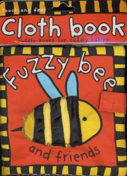Books About Friendship - Fuzzy Bee and Friends (Cloth Books)