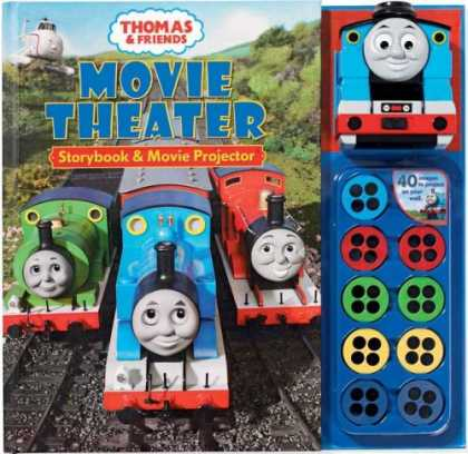 Books About Friendship - Thomas & Friends Movie Theater Storybook & Movie Projector