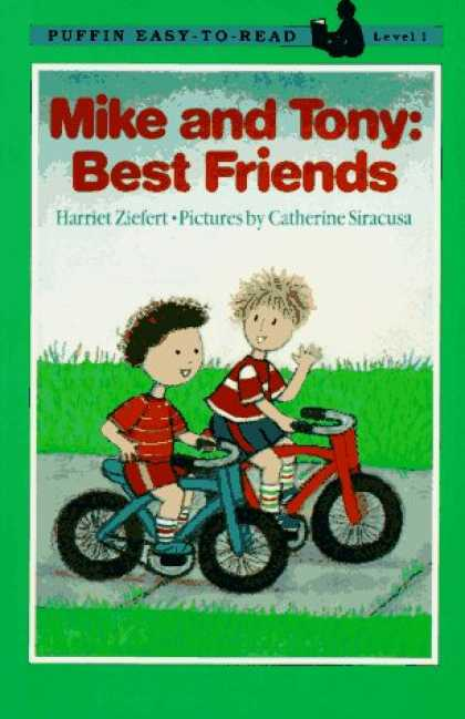 Books About Friendship - Mike and Tony: Best Friends, Level 1 (Puffin Easy- to- Read, Level 1)