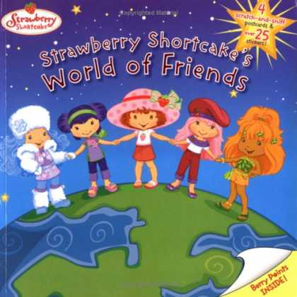 Books About Friendship - Strawberry Shortcake's World of Friends