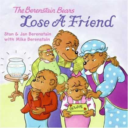 Books About Friendship - The Berenstain Bears Lose a Friend