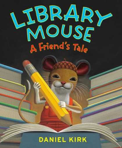 Books About Friendship - Library Mouse: A Friend's Tale
