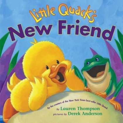 Books About Friendship - Little Quack's New Friend