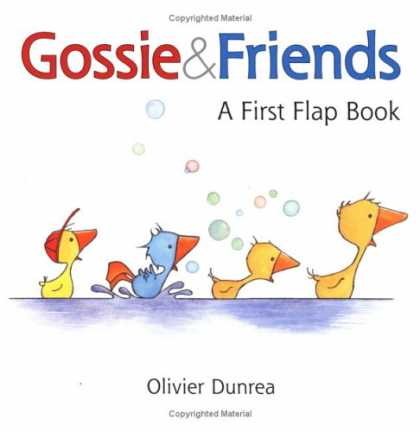 Books About Friendship - Gossie & Friends: A First Flap Book