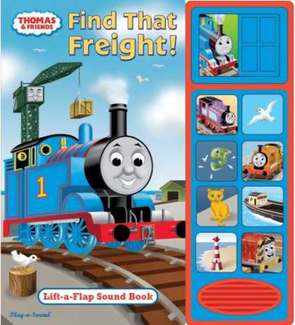 Books About Friendship - Find That Freight: Lift-A-Flap Sound Book [With Soundboard] (Thomas & Friends)