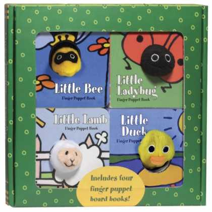 Books About Friendship - Finger Puppet Friends boxed set: Little Duck, Little Ladybug, Little Lamb, and L