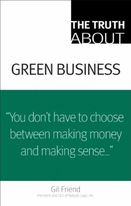 Books About Friendship - The Truth About Green Business