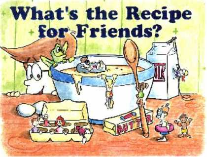 Books About Friendship - What's The Recipe For Friends?