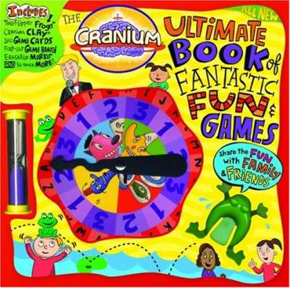 Books About Friendship - The Cranium Ultimate Book of Fantastic Fun & Games: Share the Fun with Family an