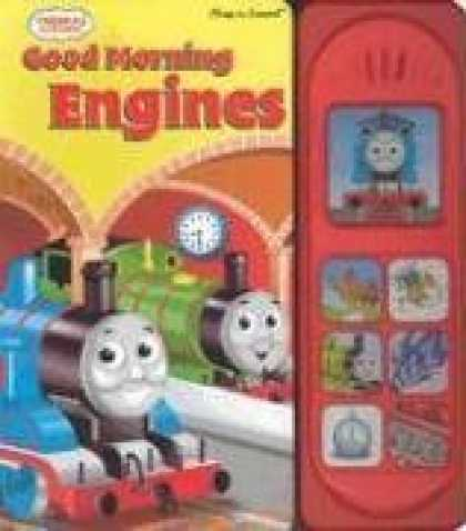 Books About Friendship - Thomas the Tank Engine: Good Morning Engines (Interactive Music Book) (Thomas &