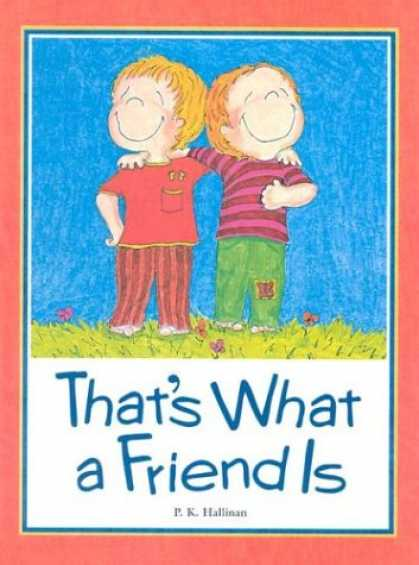 Books About Friendship - That's What a Friend Is