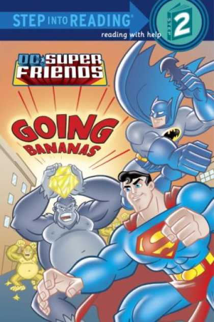 Books About Friendship - Super Friends: Going Bananas (Step into Reading)