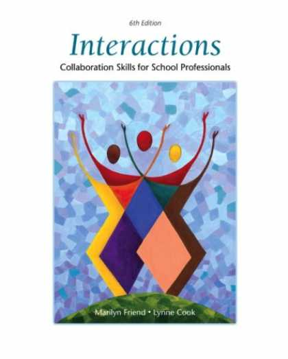 Books About Friendship - Interactions: Collaboration Skills for School Professionals (6th Edition)