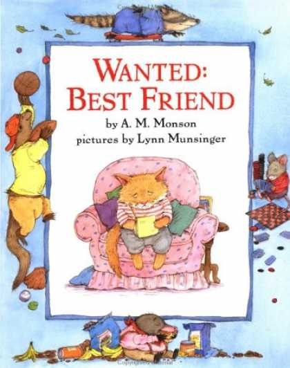 Books About Friendship - Wanted: Best Friend