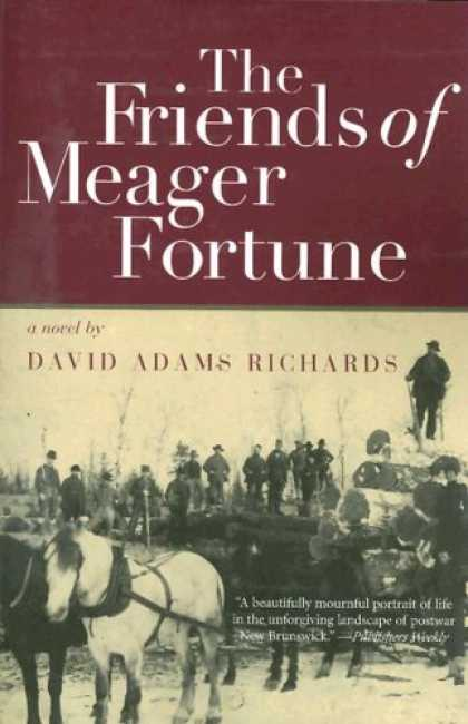 Books About Friendship - The Friends of Meager Fortune