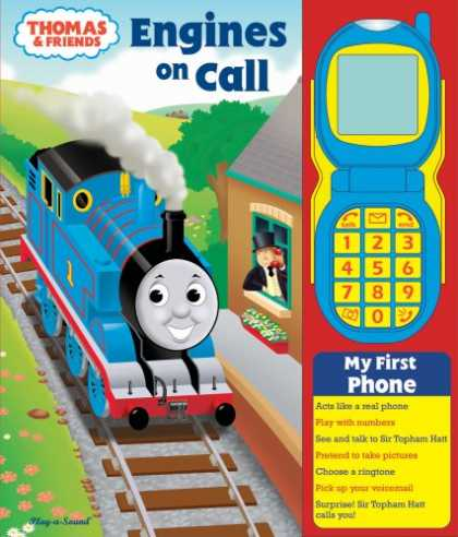 Books About Friendship - Thomas & Friends: Engines on Call [With Toy Phone] (Play-A-Sound Books)