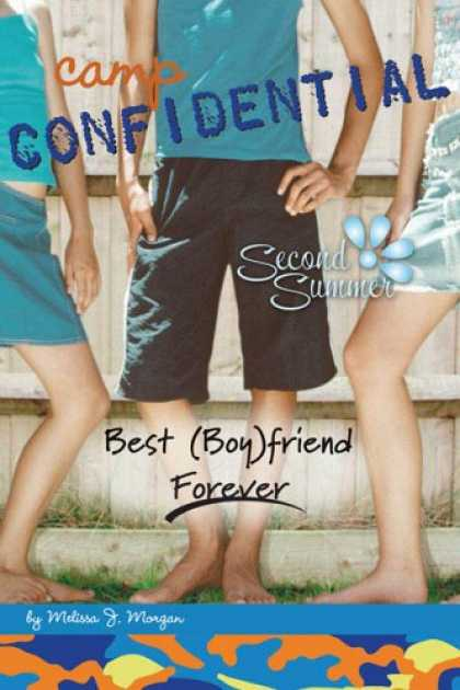Books About Friendship - Best (Boy)friend Forever #9 (Camp Confidential)
