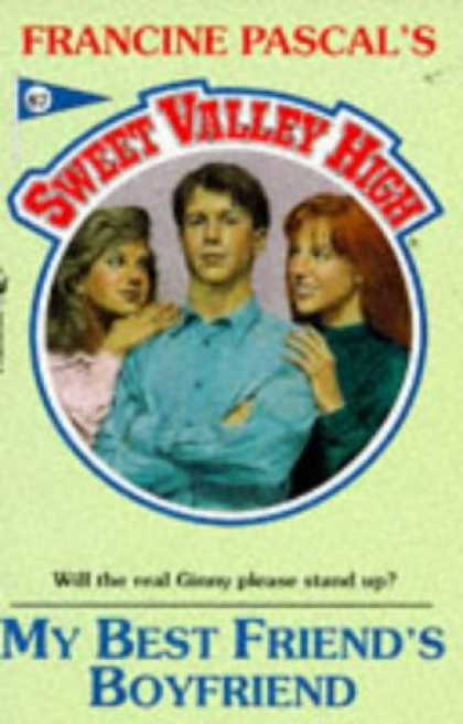 Books About Friendship - MY BEST FRIEND'S BOYFRIEND (Sweet Valley High)