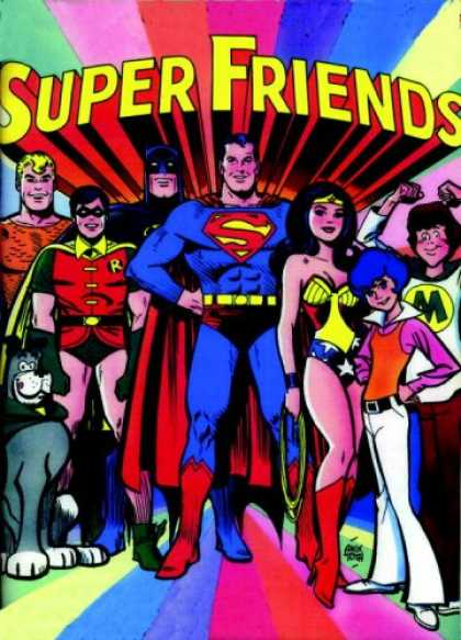 Books About Friendship - Showcase Presents: Super Friends Vol. 1