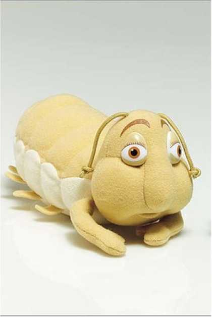 Books About Friendship - Mini Plush: Wormie (Max Lucado's Hermie & Friends)