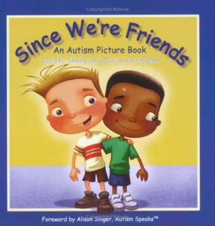 Books About Friendship - Since We're Friends: An Autism Picture Book