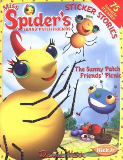 Books About Friendship - Miss Spider: The Sunny Patch Friends' Picnic