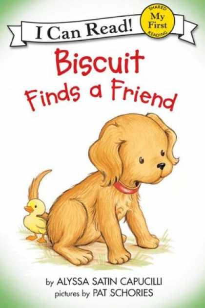 Books About Friendship - Biscuit Finds a Friend (My First I Can Read)