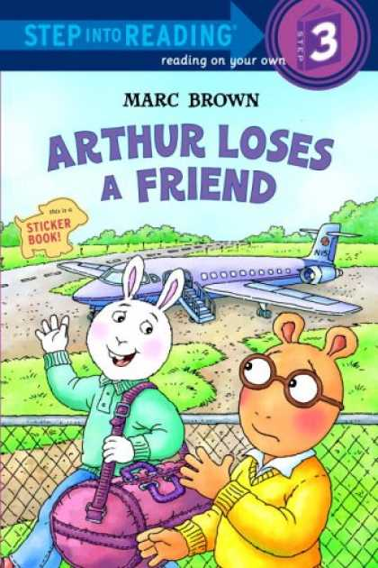 Books About Friendship - Arthur Loses a Friend (Step into Reading)