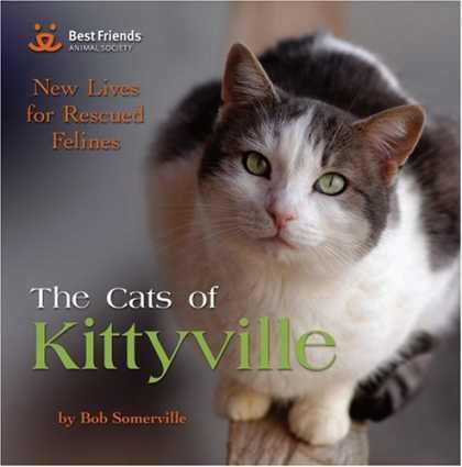 Books About Friendship - The Cats of Kittyville: New Lives for Rescued Felines
