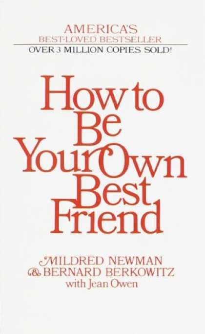 Books About Friendship - How to Be Your Own Best Friend