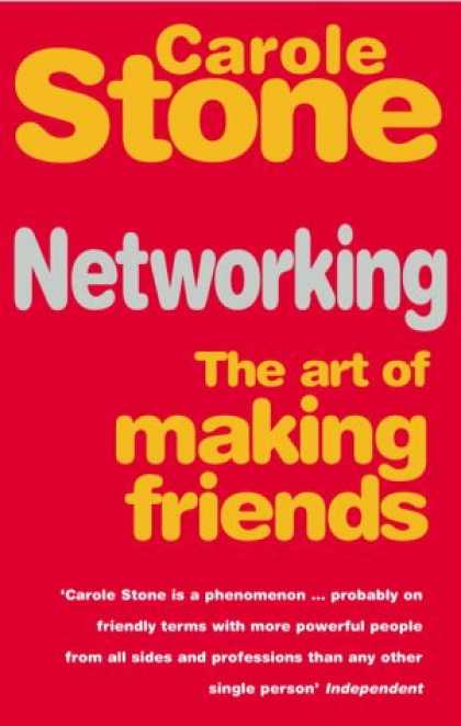 Books About Friendship - Networking: The Art of Making Friends
