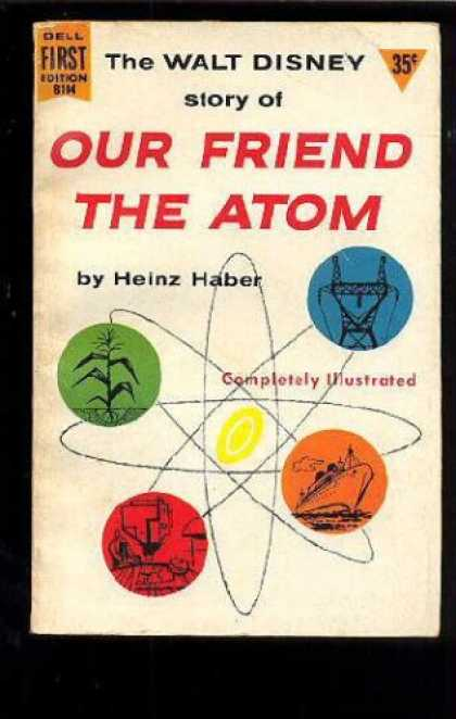 Books About Friendship - Walt Disney's Our Friend the Atom
