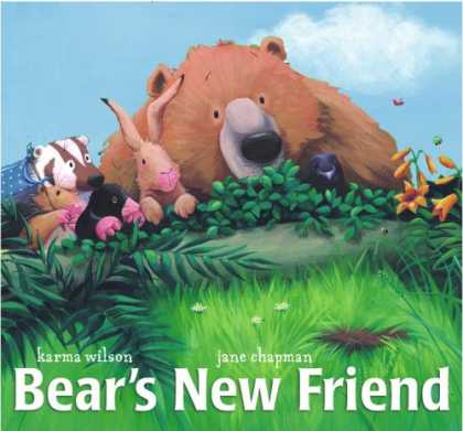 Books About Friendship - Bear's New Friend