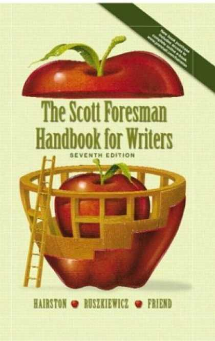 Books About Friendship - Scott Foresman Handbook for Writers with I-Book & 2003 MLA Update Package (7th E