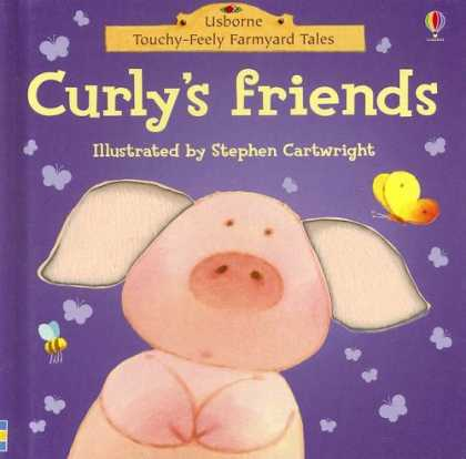 Books About Friendship - Curly's Friends (Touchy-Feely Board Books)