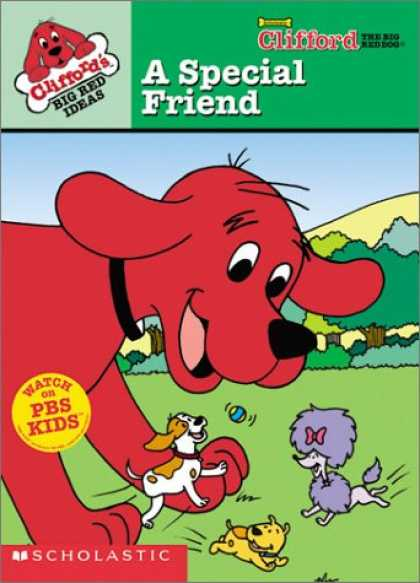 Books About Friendship - Clifford's Big Red Ideas (A Special Friend)