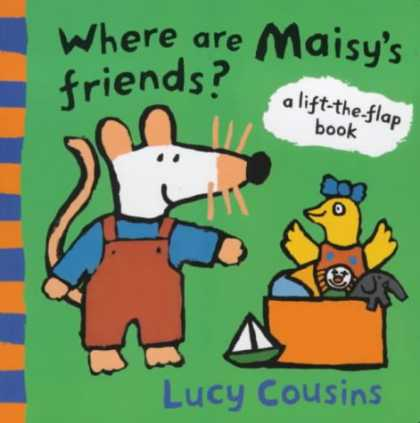 Books About Friendship - Where are Maisy's Friends?