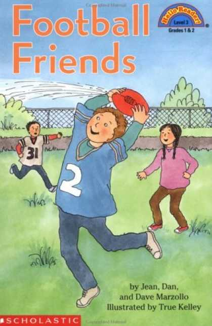 Books About Friendship - Football Friends (Hello Reader Level 3)