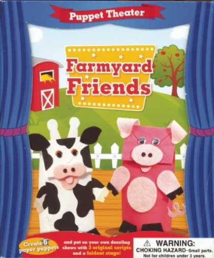 Books About Friendship - Puppet Theater: Farmyard Friends