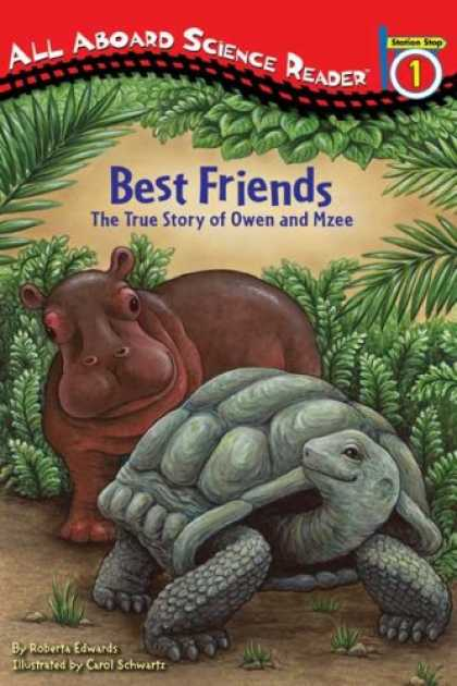 Books About Friendship - Best Friends: The True Story of Owen and Mzee (All Aboard Science Reader)