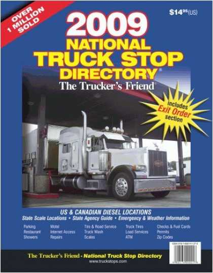 Books About Friendship - 2009 National Truck Stop Directory: The Trucker's Friend