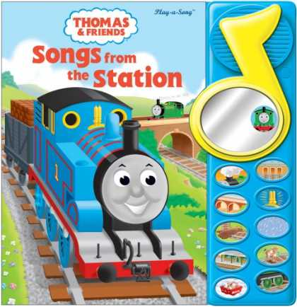 Books About Friendship - Thomas & Friends Songs from the Station (Magical Mirror Sound Book)