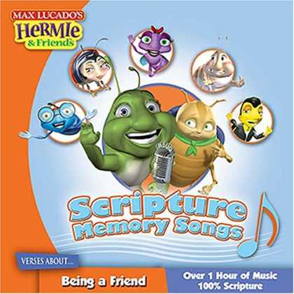 Books About Friendship - Scripture Memory Songs: Verses About Being a Friend (Max Lucado's Hermie & Frie