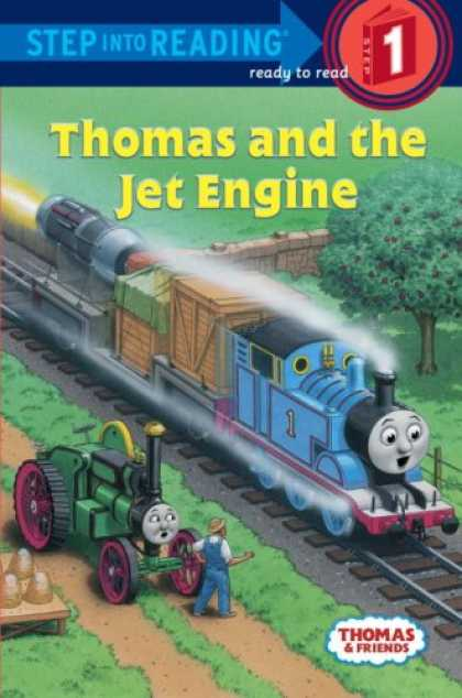 Books About Friendship - Thomas and Friends: Thomas and the Jet Engine (Step into Reading)